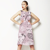 Abstract Sketchy Woodland Floral (Dress)