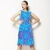 Abstract Digital Geometric Tie Dye Print (Dress)