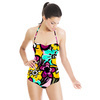 Graphic Floral (Swimsuit)
