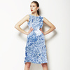 Blue Ethnic (Dress)