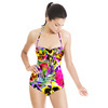 Bright Tropical Summer Floral (Swimsuit)