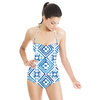 Ethnic Watercolour Tiles (Swimsuit)