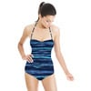 Watercolour Inky Stripes (Swimsuit)