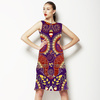 Indian Seamless Pattern. Decorative Ornament (Dress)