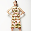 Watercolor Checks (Dress)