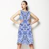 Blue Paisley (Dress)