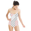 Ethnic Mixed Colour Geo - Mixed Mono (Swimsuit)
