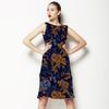 Linear Floral 4 (Dress)