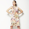 Ethnic Pattern With Watercolour Effect (Dress)