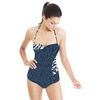 Graphic Midnight Tropical (Swimsuit)