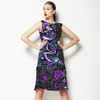 Hand Painted Paisley Composition (Dress)