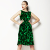 Abstract Camouflage Texture Textile Pattern (Dress)