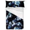 Vintage Blue Flowers (Bed)