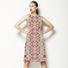 Geometrical Figures Pattern Design (Dress)