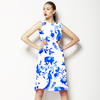 China Blue Oriental Birds With Branches (Dress)