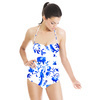 China Blue Oriental Birds With Branches (Swimsuit)