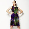 Palm Leaves Glitch (Dress)
