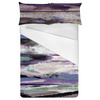 Abstract Mountains Clouds Grass Futuristic Ombre (Bed)