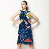 Midnight Garden Floral (Dress)