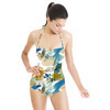 Painted Splatter Colourful Shapes and Dots (Swimsuit)