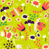 Butterfly Party, All Over, Floral Pattern (Original)