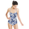 Abstract Pattern With Graphic Elements. (Swimsuit)