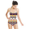 Colourful Playful Abstract Native Pattern (Swimsuit)