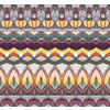 Colourful Playful Abstract Native Pattern (Original)