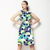 Camo Geometric. (Dress)