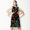 Hand Painted Color (Dress)