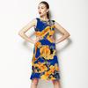 Blue and Yellow Splash (Dress)