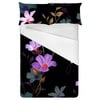 Midnight Garden Retro Flowers (Bed)