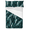 Emerald Active Abstract Stripes (Bed)