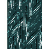 Emerald Active Abstract Stripes (Original)