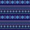 Tonal Blue Fairisle (Original)