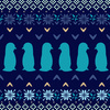 Penguin Fairisle (Original)