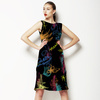 Abstract Neon Flowers (Dress)